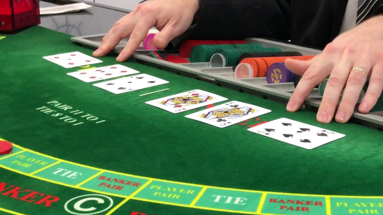 Learn How To Play Baccarat In Less Than 4 Minutes